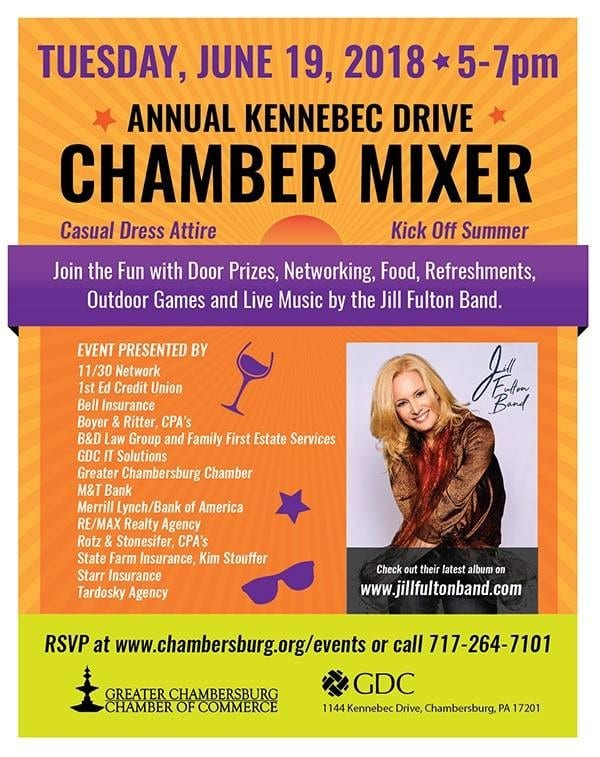 2018 Annual Kennebec Mixer and Block Party Poster
