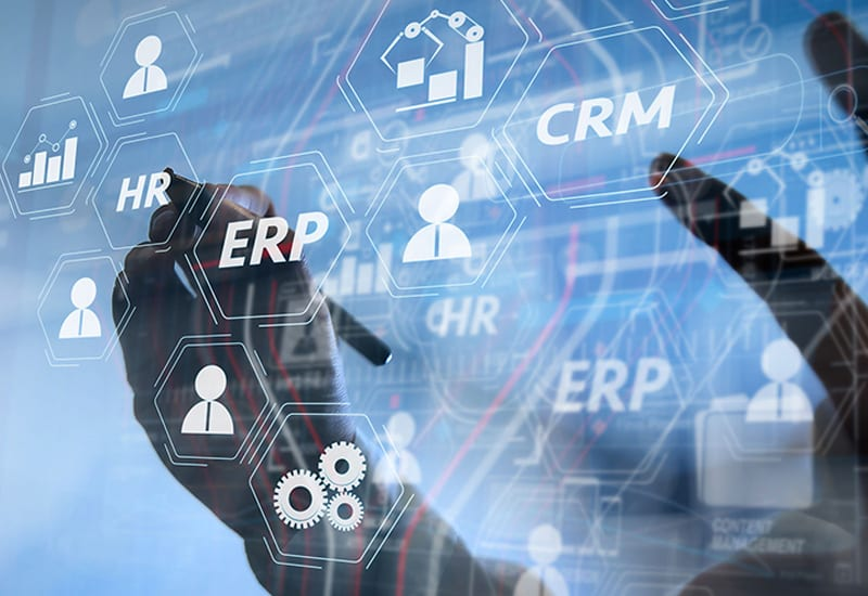 Database Design Administration and Maintenance ERP CRM Overlay