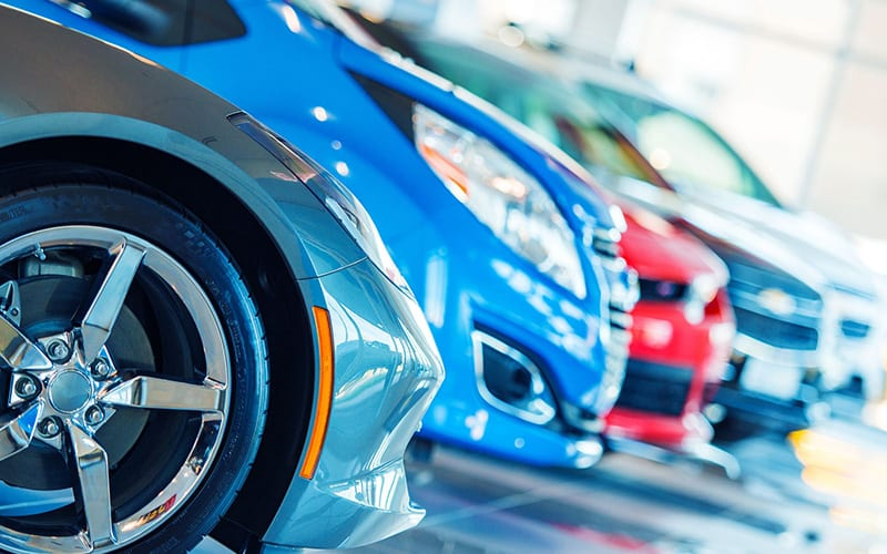Automotive Industry Photo of Cars
