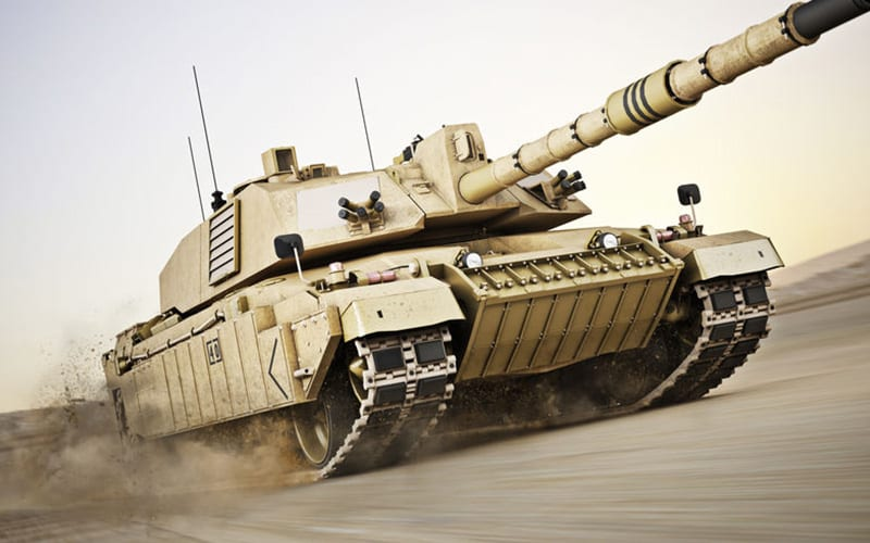 Defense Industry Photo of a Tank