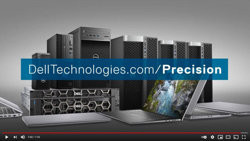 Dell Precision YouTube Video Thumbnail