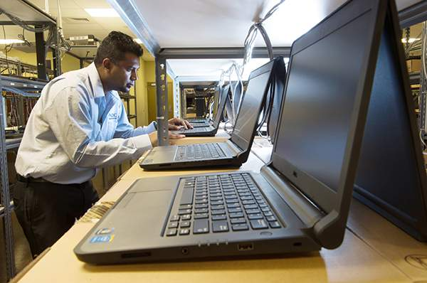 Richie Imaging Laptops at the GDC LAM Systems Hardware Depot