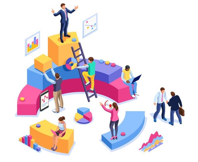 data and system integration illustration