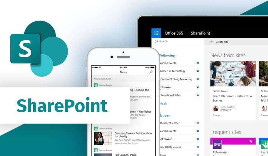 Microsoft Sharepoint Mobile and Desktop