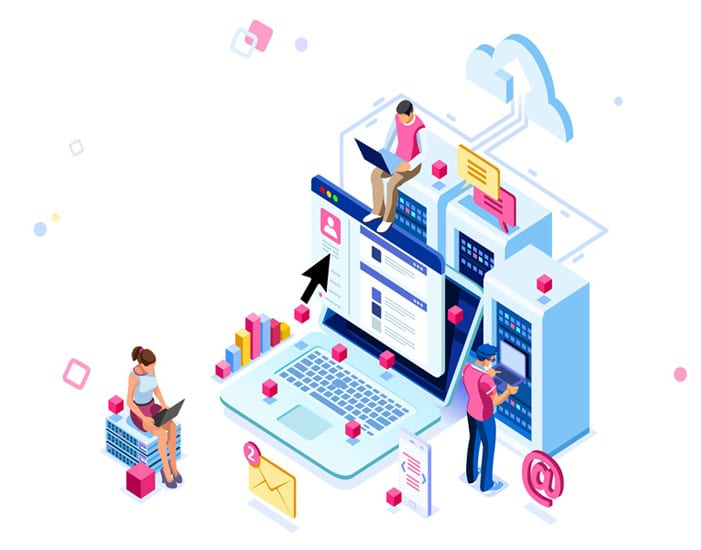 Managed IT Services Illustration