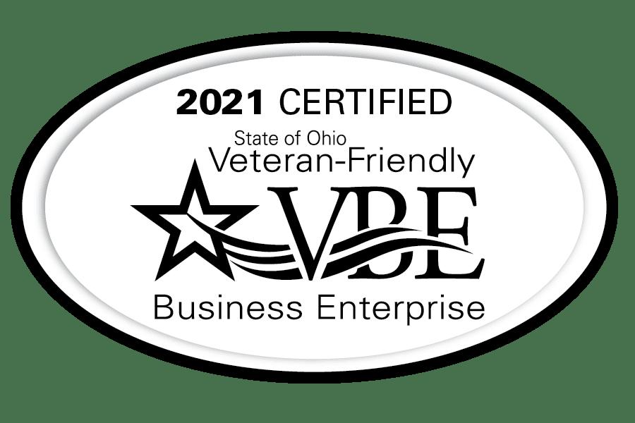 State of Ohio Veteran-Friendly Business Enterprise Badge