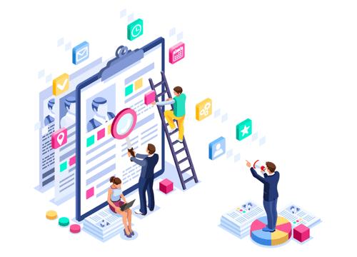 Workforce Management Illustration