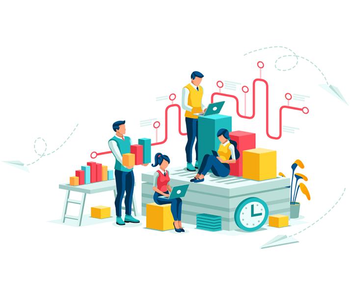 Workforce Delivery Illustration