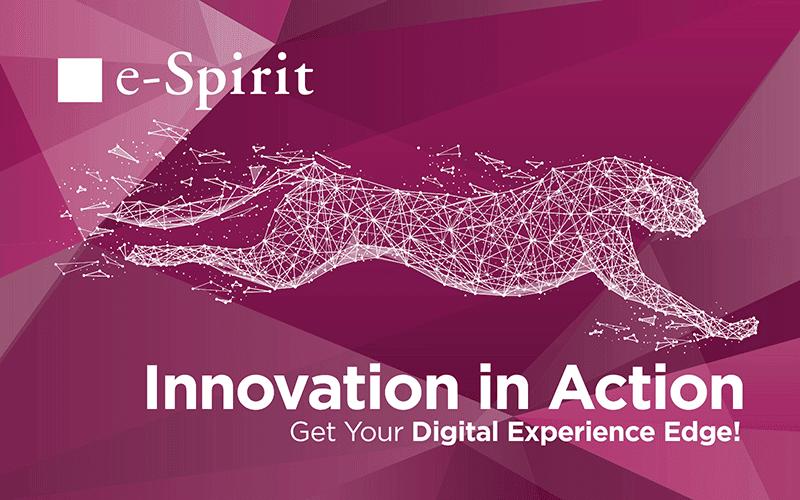 e-spirit Innovation in Action