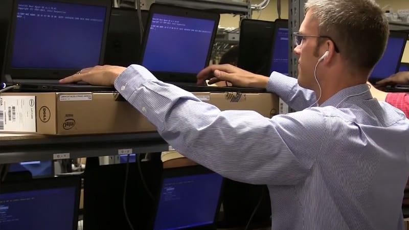 Westport Depot Services Interior Racks Laptops Technician