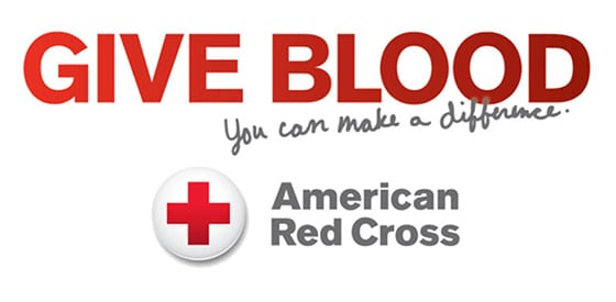 American Red Cross Give Blood Logo